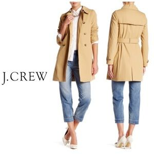 J Crew Signature Trench Coat 🧥